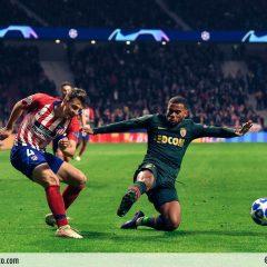 Las mejores imágenes del Atleti-Mónaco