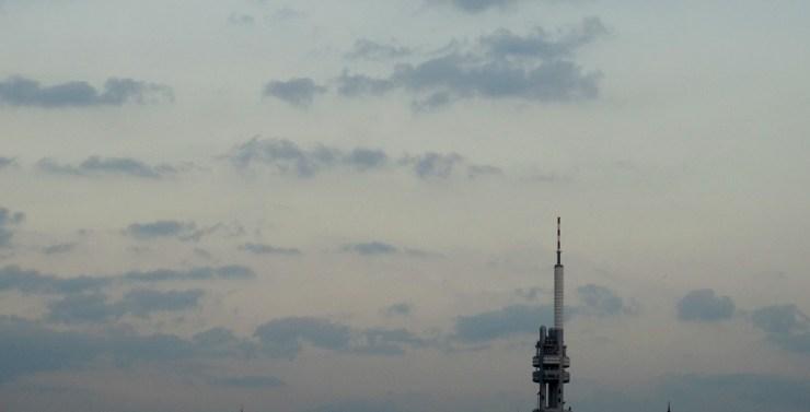 plus haute tour de Prague