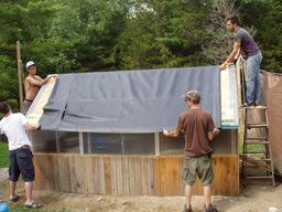 techo verde paso membrana