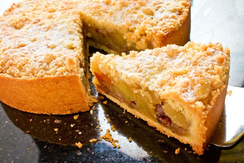 Receta para preparar una Tarta de manzana vegana