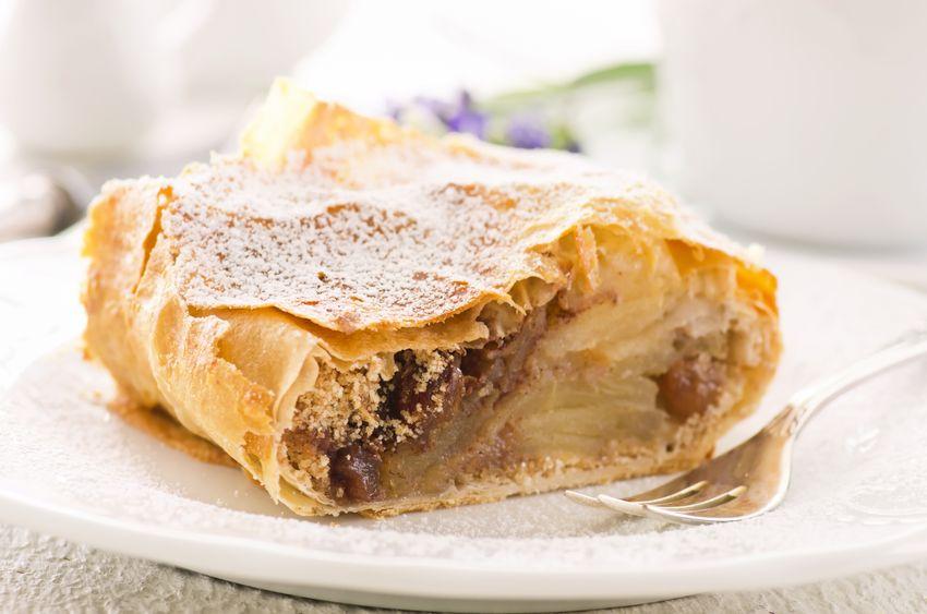 Receta para elaborar una tarta de manzana Alemana