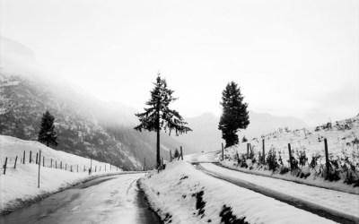 Une route en Suisse