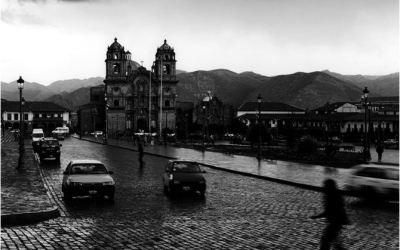 Cuzco, fin d'après midi sous la pluie