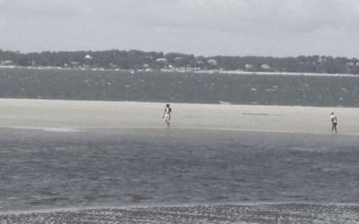 Marchons sur l'eau tant que c'est possible