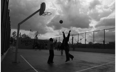Basketball, Jardin d'Eole