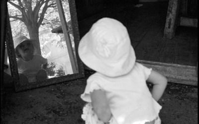 Louise au miroir