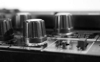 bouton d'ampli