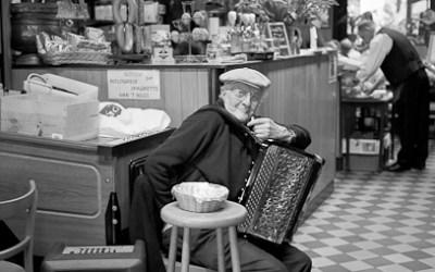 L'accordéoniste du dimanche..