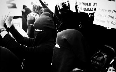manifestation à Londres contre la loi française