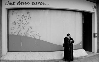 c'est deux euros…