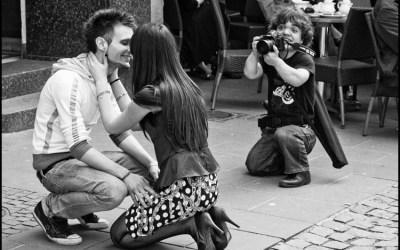 le photographe et les amoureux