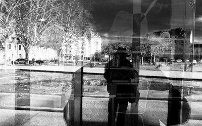 Autoportrait aux reflets