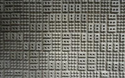 Mur d'œufs