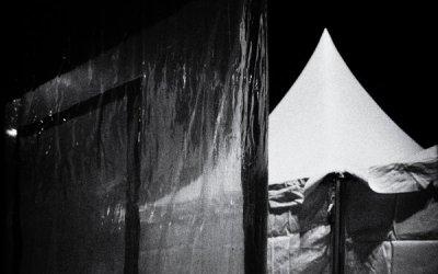 La tente éclairée