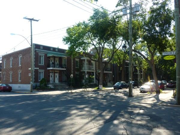 Notre location à Montréal et le quartier