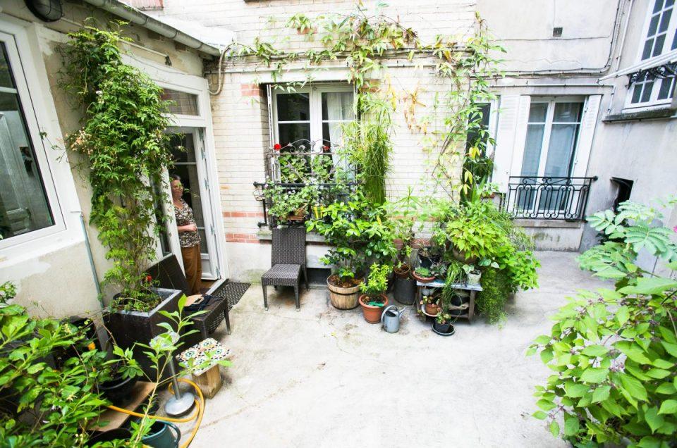 Végétaliser la cour de son immeuble : le projet d'Aline