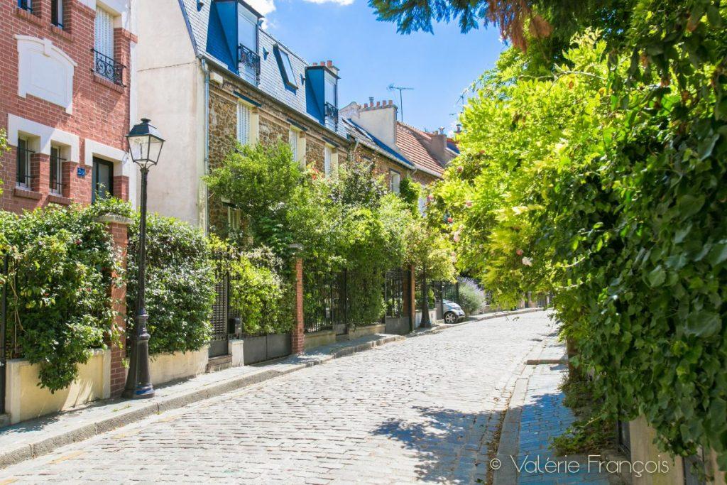 Rue Irénée Blanc - la campagne à Paris