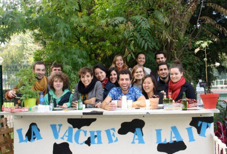 Jardin du monde - la vache à lait