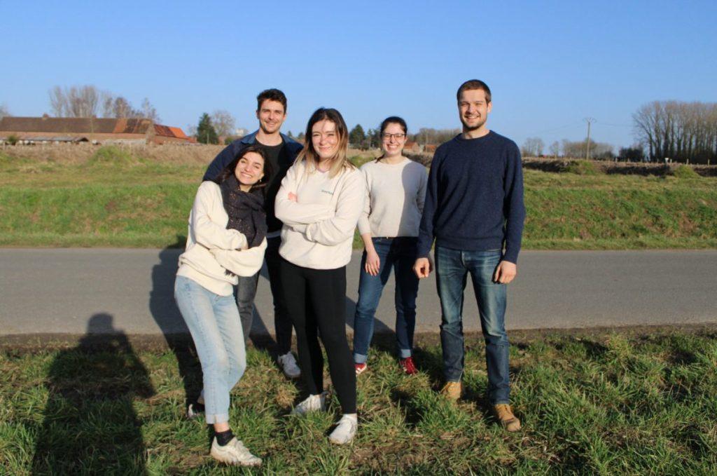 L'équipe de la start-up Hors Normes qui lutte contre le gaspillage alimentaire