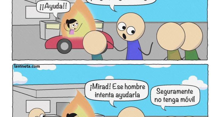 Rescate en gasolinera