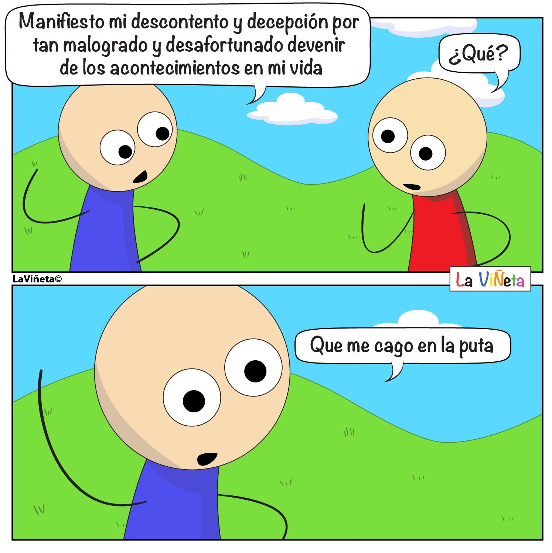 Malogrado devenidr La Viñeta Webcomic