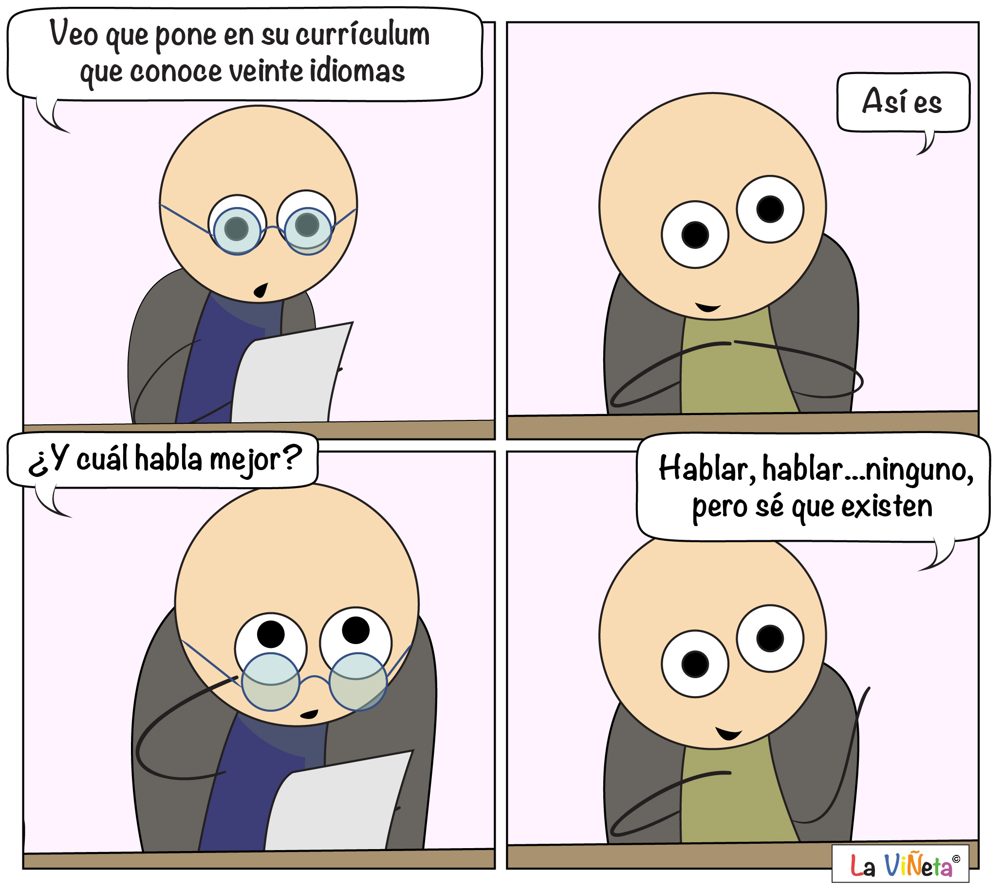 Currículum La Viñeta WebComic