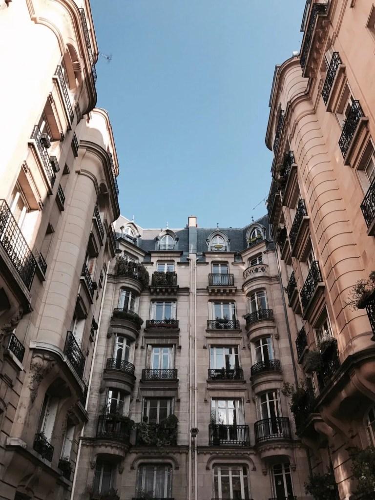 Palazzi a Parigi