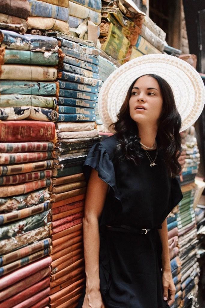 Lavinia Guglielman alla libreria dell'acqua alta
