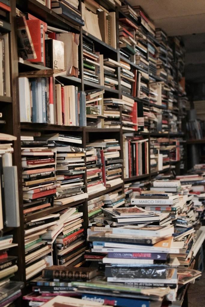 Libreria dell'acqua alta di Venezia
