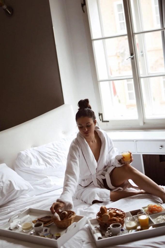 Lavinia Guglielman colazione al Neruda design Hotel