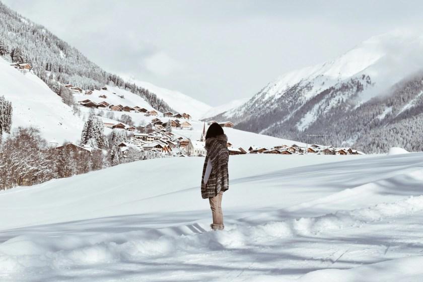 uno scorcio sulla val di casies in Val Pusteria sulle Dolomiti