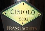 Franciacorta Dosaggio Zero Cisiolo Villa Crespia 2003