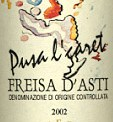 Freisa d'Asti Pusa 'l Caret 2002