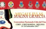 L'antica Krimisa, terra di Cirò, dal 21 al 24 settembre ospiterà la Convention d'Autunno delle Città del Vino