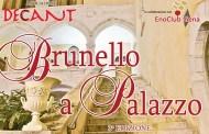 Il 3 dicembre a Fondi la terza edizione di Brunello a Palazzo