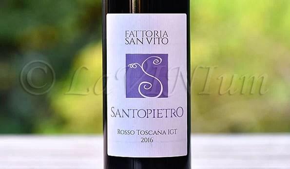 Santopietro Rosso 2016 Fattoria San Vito
