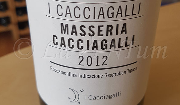 Masseria Cacciagalli 2012 I Cacciagalli