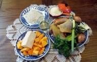 Risotto alla zucca e taleggio con chips di parmigiano reggiano e Colli Piacentini Malvasia