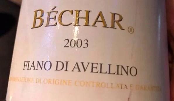 Fiano di Avellino Béchar 2003 Antonio Caggiano