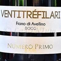 Fiano di Avellino Numero Primo 2016 Ventitréfilari
