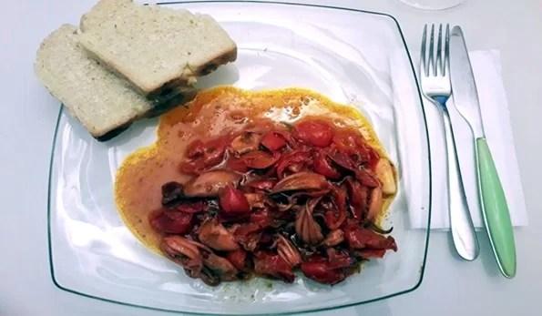 piatto a base di Totani