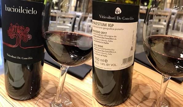 VINerdì IGP, il vino della settimana: Bacioilcielo 2017 Viticoltori De Conciliis