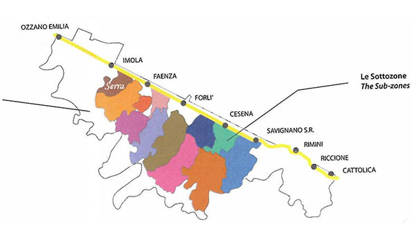 Le Doc dell'Emilia Romagna: Romagna Sottozona Serra