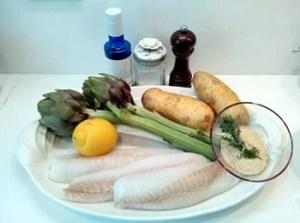 ingredienti del merluzzo