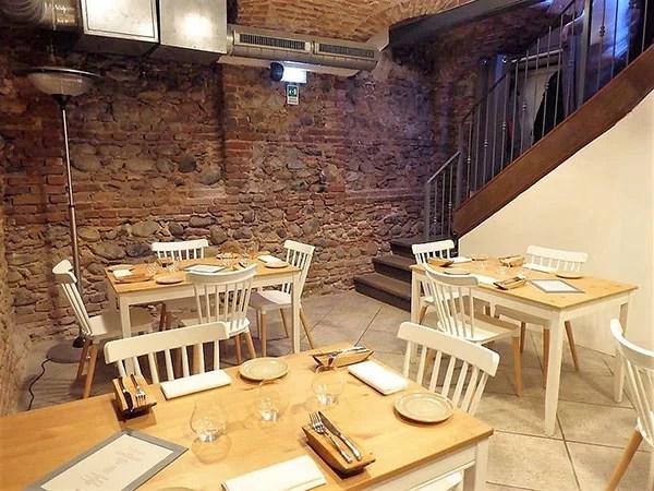 Interno ristorante Casa Amélie