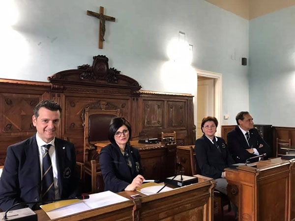 Piero Gabriele, Nicoletta Gargiulo, Maria Grazia De Luca e Pasquale Di Nardo