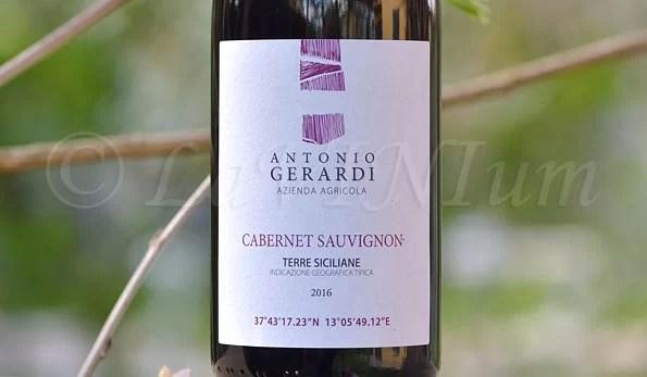 Cabernet Sauvinon 2016 Antonio Gerardi