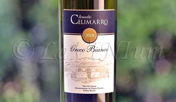 Produttori, un vino al giorno: Terre di Cosenza Pollino Bianco Greco Bianco 2018 Tenuta Celimarro