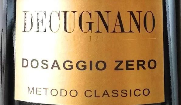 VINerdì IGP, il vino della settimana: Dosaggio Zero 2014 Decugnano dei Barbi
