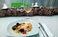 Cuori di merluzzo agli agrumi mediterranei e Sicilia Grillo